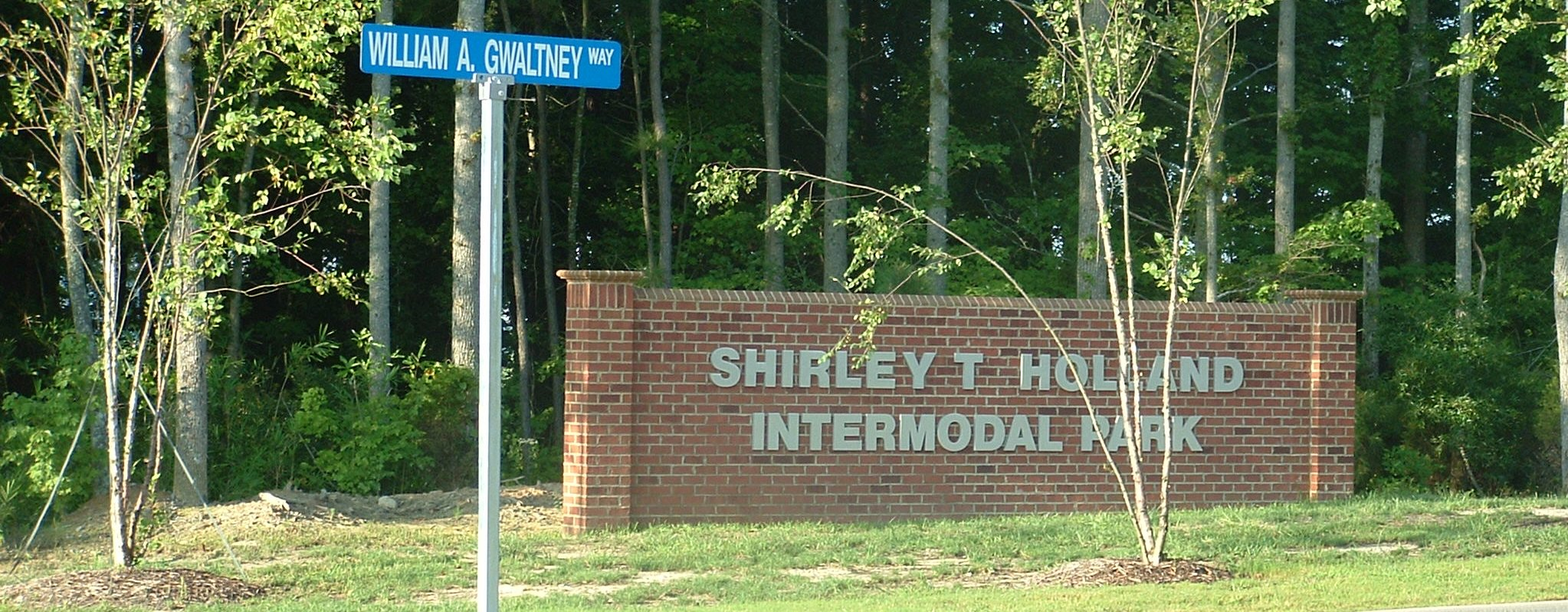 STH Entrance Sign